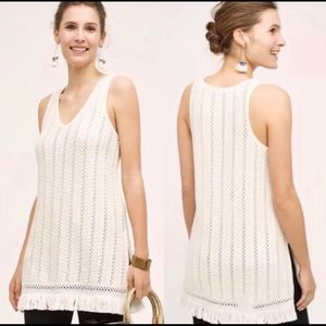 Anthropologie Knitted & Knotted tunic